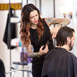 Cece Cutting Hair